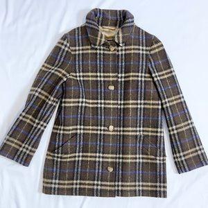 Burberry | 100% Wool Brown Coat